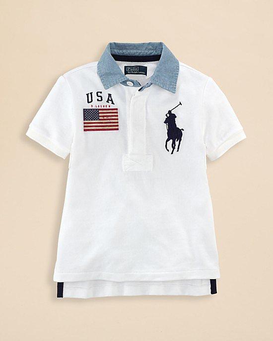 Ralph Lauren Big Pony Rugby Shirt