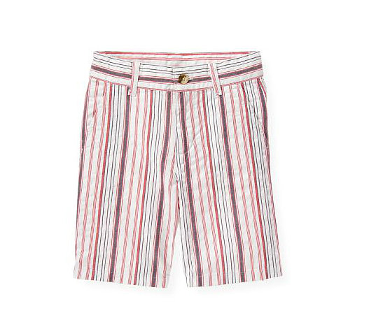 Janie and Jack Striped Seersucker Shorts