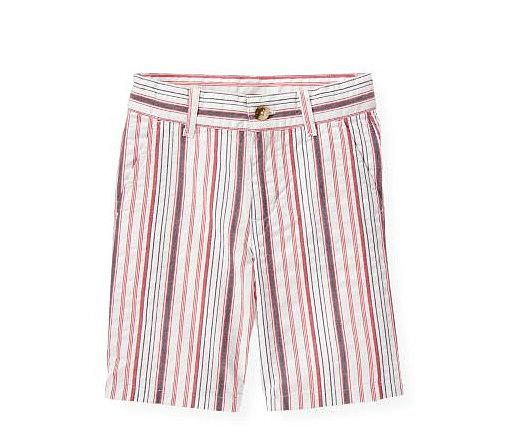 Janie and Jack Striped Seersucker Shorts