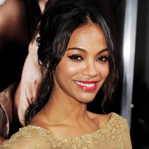 Zoe Saldana Hair and Makeup | Pictures