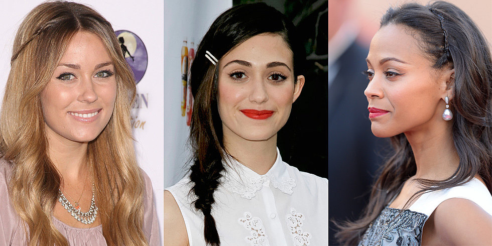 5 Sweet Styles For Keeping Your Fringe Off Your Face