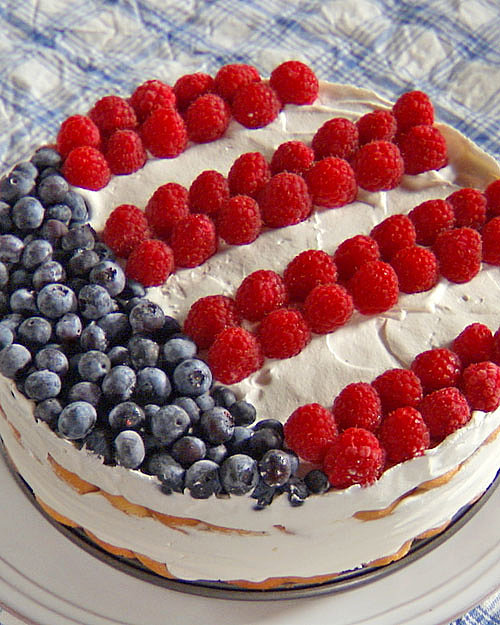 Independence Icebox Cake