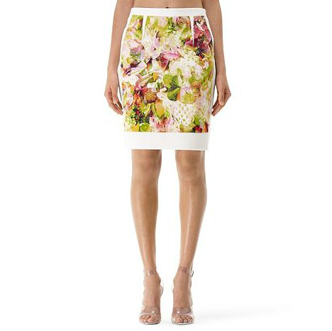 Club Monaco's Kenson printed pencil skirt ($140) is anything but average and still just as appropriate for working hours.