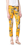 Zara's floral print cropped pants ($80) may just be the coolest trousers to ever hit the boardroom. Just add a staple button-down and heels to take them to the office.