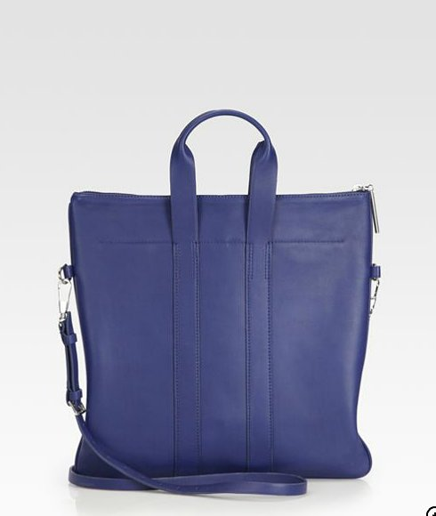 We heart the bold blue and the convenient cross-body strap on this 3.1 Phillip Lim 31 Hour Convertible tote ($685).