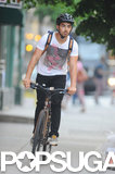 Joe Jonas sped through the Big Apple in May.