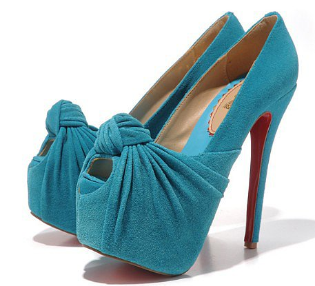 Hot sell cheap New bow fish head shoes_High shoes_Fashion shoes_Mili fashion Trade Co.Ltd