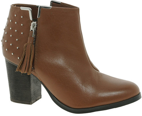 Bronx Leather Lea Zip Boot
