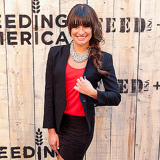 Lea Michele at Target's Feed Collaboration Party