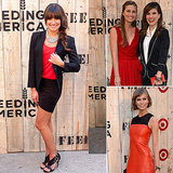 Lea Michele Gets In on the FEED Fun in Brooklyn