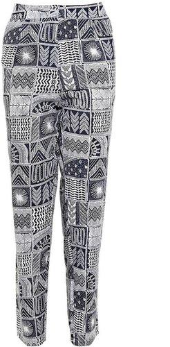 Mara Hoffman Rayon Patchwork Trousers