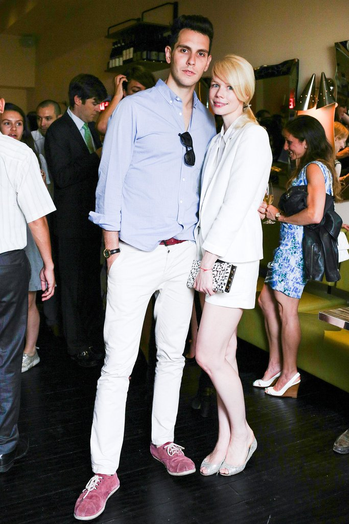 Gabe Saporta and Erin Fetherston at the Altamarea Group's Butterfly launch hosted by Hannah Bronfman and Chef Michael White in New York.  Source: Benjamin Lozovsky/BFAnyc.com