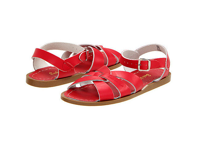 Water shoes can be cute! Just look at these Hoy Shoe Salt Water Sandals ($22-$42) that are equal parts pretty and practical.