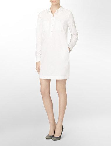 Calvin Klein Jeans Button-Front Shirt Dress