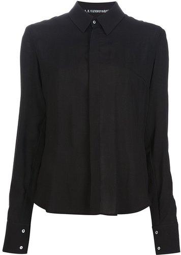A.F.Vandevorst 'Crushed' shirt