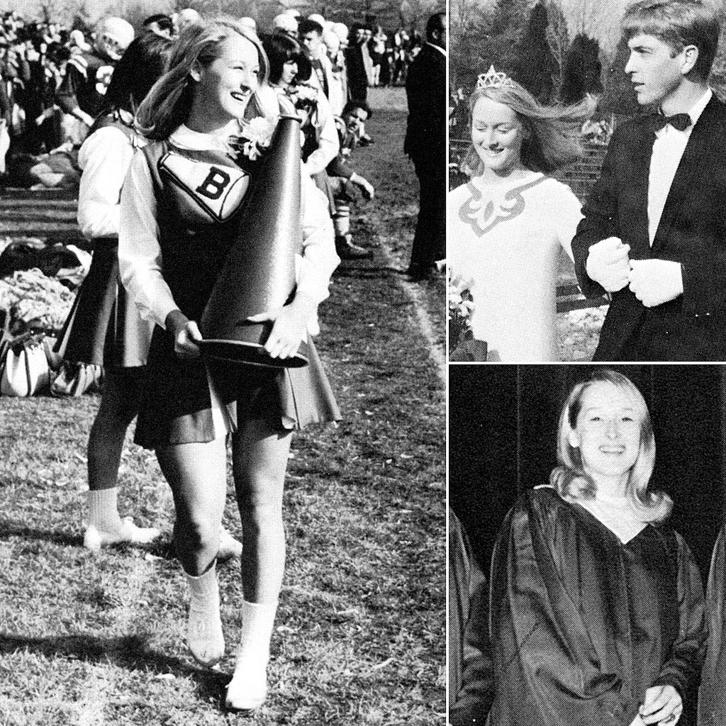 See Meryl Streep in Her High School Cheerleading Days!
