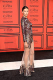 Adriana Lima worked a similar Givenchy gown at the 2013 CFDA Awards in NYC.