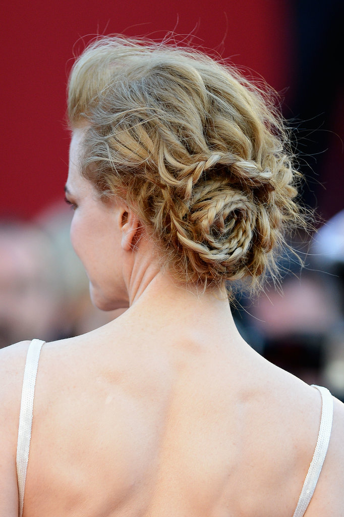 Nicole Kidman rocked a spiral braid at Cannes this year.
