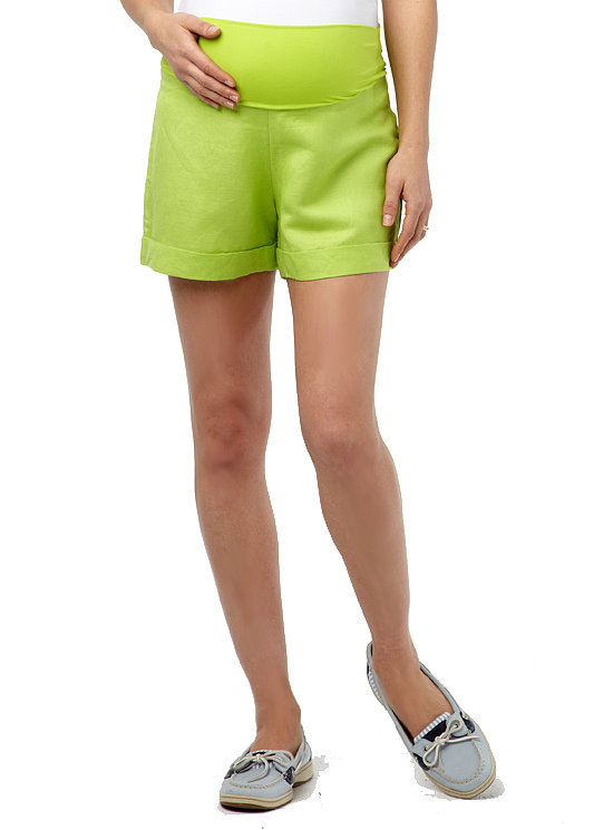 Rosie Pope's Montauk Shorts ($88) in lightweight linen just may be the best maternity shorts out there — I lived in them during my own pregnancy!