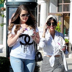 Kardashians Get Frozen Yoghurt After Kim's Baby Announcement