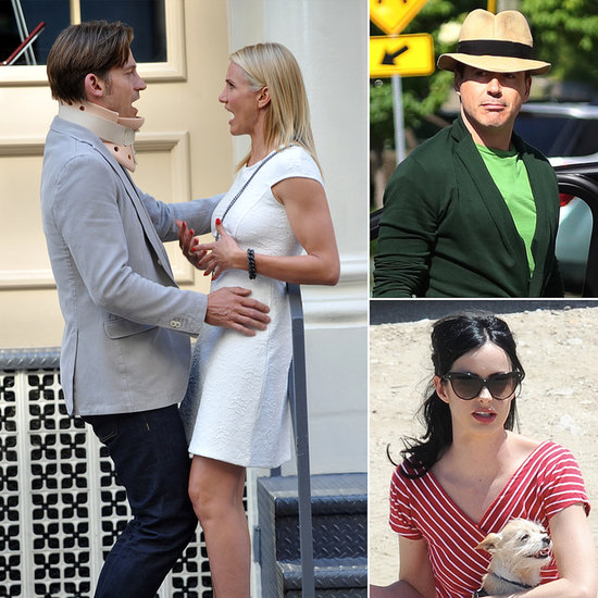 Cameron Diaz, Robert Downey Jr., Krysten Ritter, and More Stars on the Set