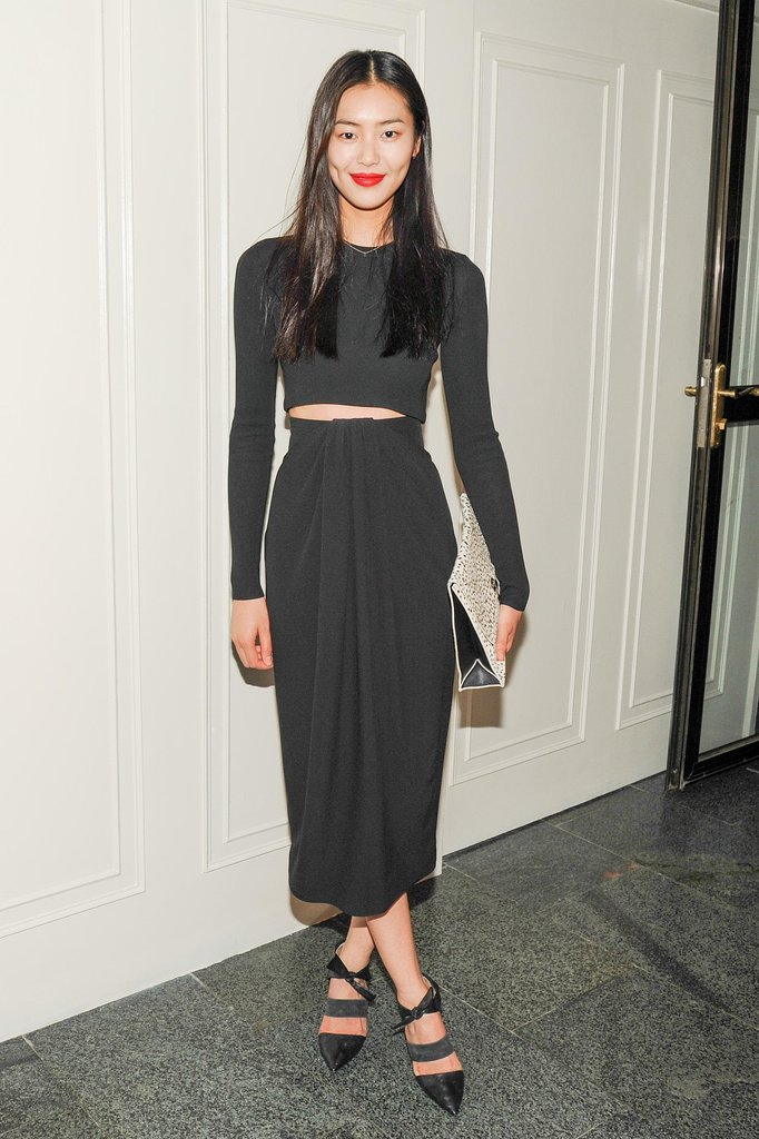 Liu Wen at the CFDA and Vogue Fashion Fund Americans in China cocktail party in Beijing. Source: Neil Rasmus/BFAnyc.com