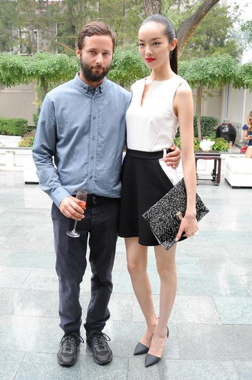 Jack McCollough and Fei Fei Sun at the CFDA and Vogue Fashion Fund Americans in China cocktail party in Beijing. Source: Neil Rasmus/BFAnyc.com
