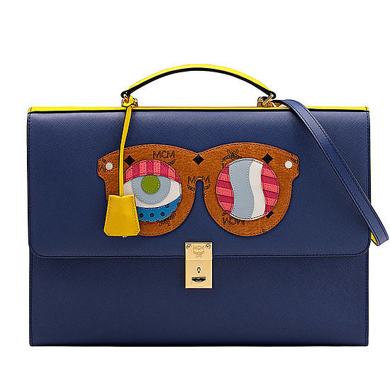 We couldn't help but smile when we saw this new line of whimsical bags.