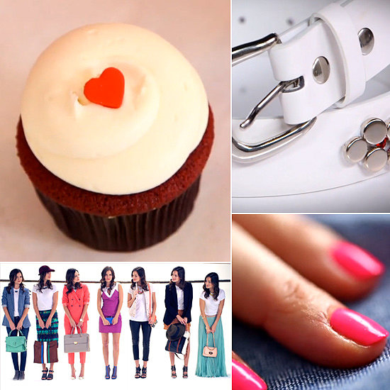 Fresh Nail Shades, a DIY Designer Belt, and Red Velvet Cupcakes: The Best of POPSUGAR TV This Week