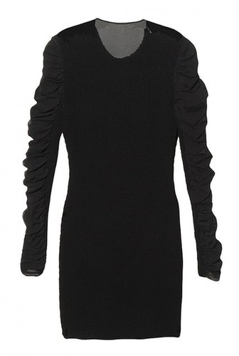 Alexander Wang Ruched Chiffon Dress