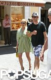 Jessica Simpson and Eric Johnson took a loved-filled trip to Capri, Italy, in July 2010.