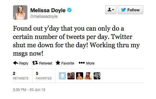 News of Melissa Doyle's departure from Sunrise was a big blow to her fans — we're loving that she took the time to acknowledge all her supporters!