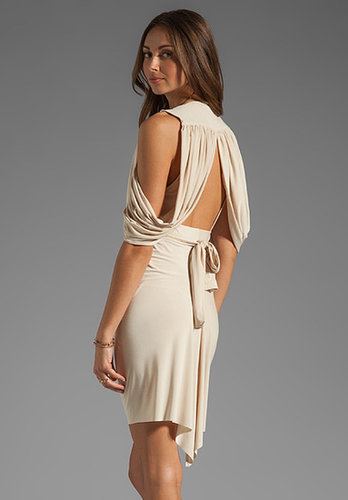 T-Bags LosAngeles Drape Back Dress
