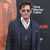 Johnny Depp Premiere von Lone Ranger in Kalifornien