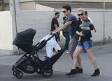 Double the Fun: Stephen Moyer and Anna Paquin Take the Twins For a Spin