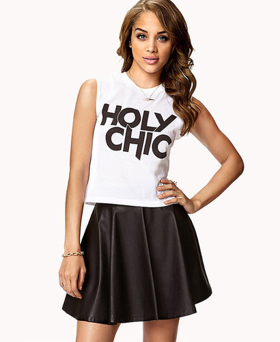 FOREVER 21 Holy Chic Muscle Tee
