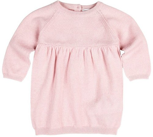 Dolce & Gabbana - Cotton Tricot Dress (Infant) (Pink) - Apparel
