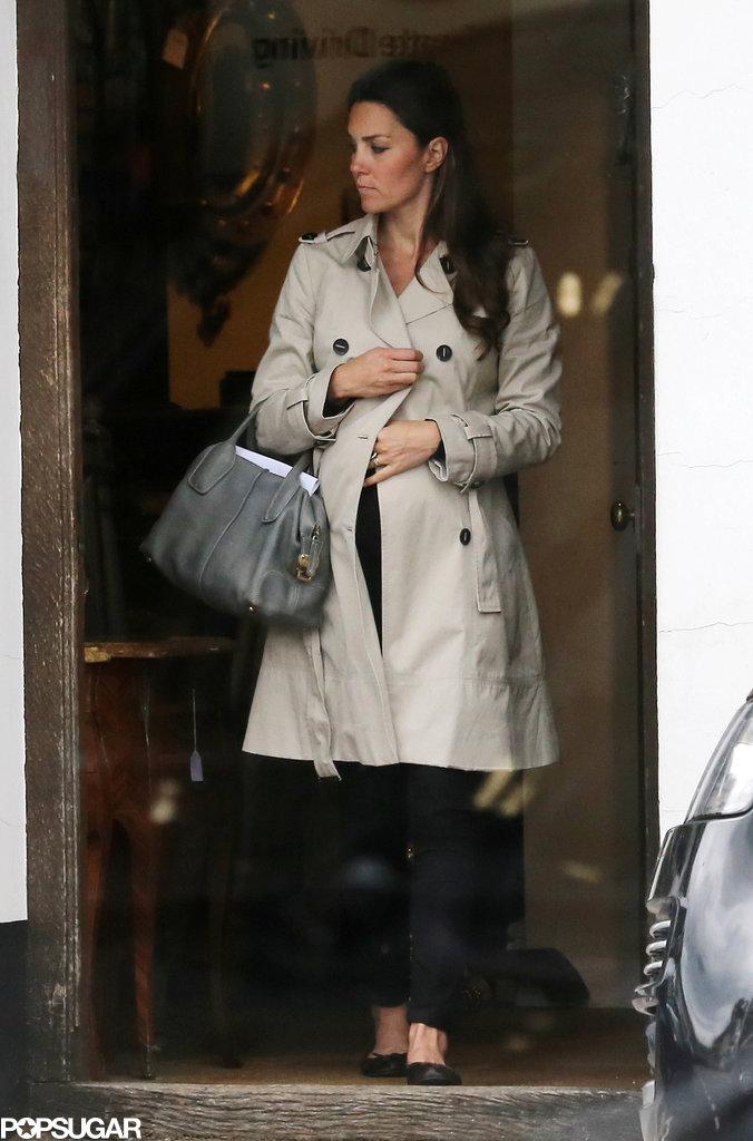 Kate Middleton Skips a Wedding to Shop Antiques