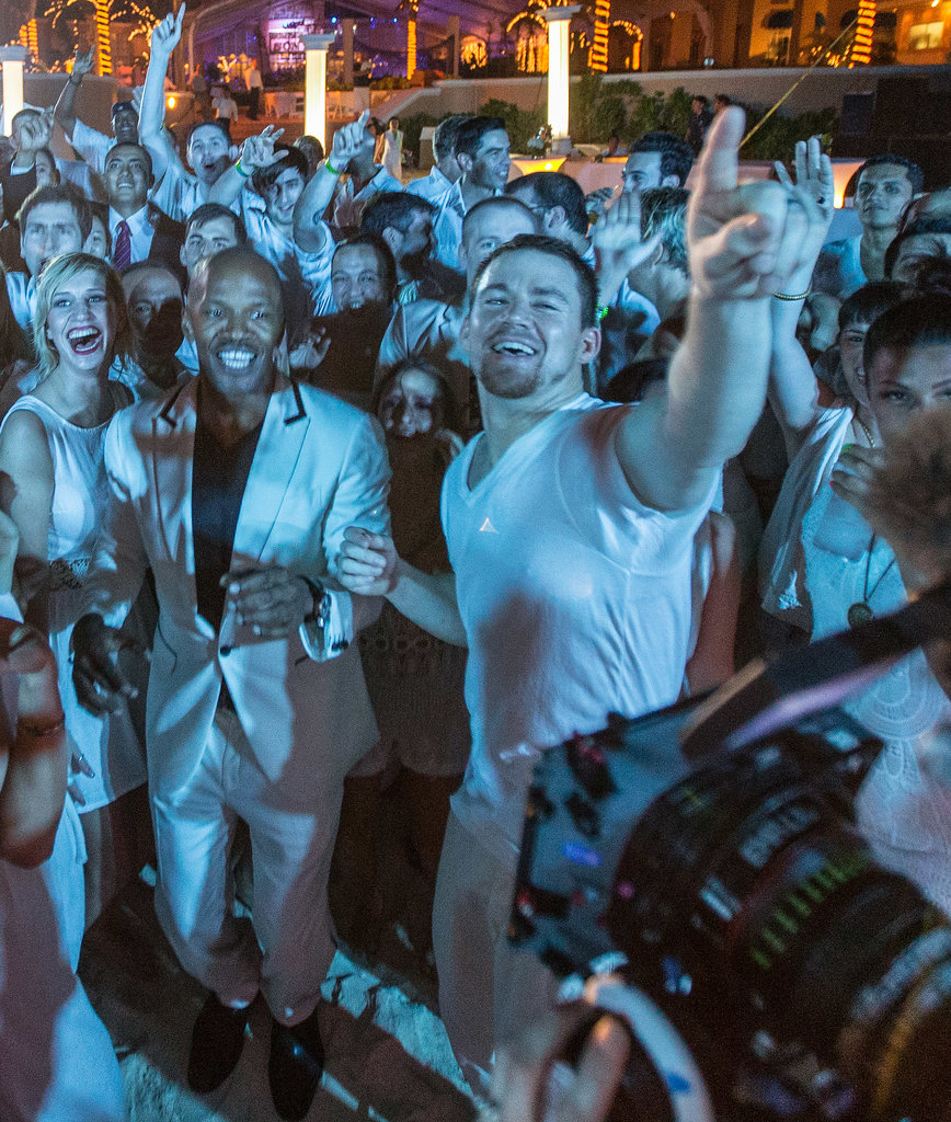 In April, Channing Tatum and his costar Jamie Foxx lived it up at the Summer of Sony party in celebration of their film White House Down in Cancun, Mexico.