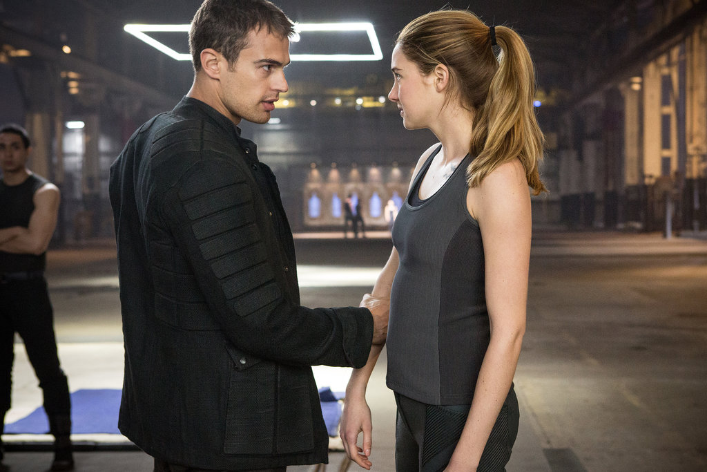 Here's a glimpse at some of the sexual tension between Four and Tris.