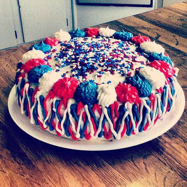 Bake a Fourth of July Cake