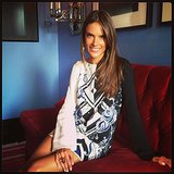 Alessandra Ambrosio sat pretty in a Pucci dress. Source: Instagram user alessandraambrosio