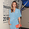 Stacy Keibler Wearing a Jumpsuit