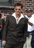 Johnny Depp Dresses Up For His Lone Ranger Duties