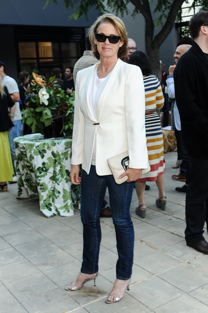 Lisa Love at the Band of Outsiders and  Bon Appetit dinner in Los Angeles.