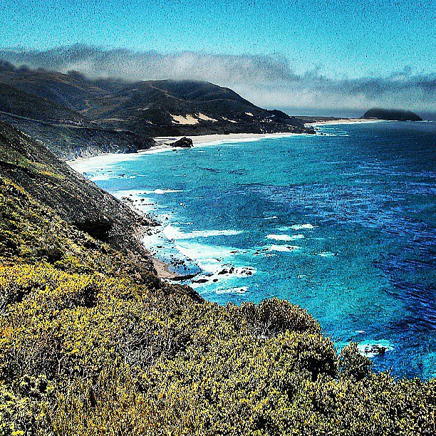 Tony Hawk took in the view during a stop in Big Sur, CA. Source: Instagram user tonyhawk