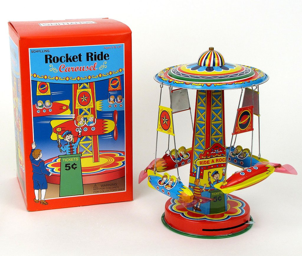 Rocket Ride Carousel
