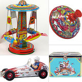 Rin Tin Tin: 12 Retro Tin Toys For Sprucing Up Kids' Rooms