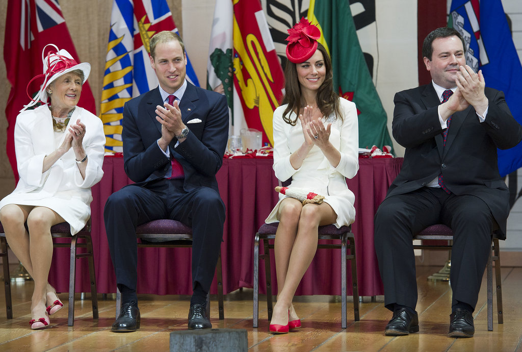 Kate earned high fashion marks in Canada when she wore a red maple-leaf hat during a Canada Day 2011 visit in Gatineau.