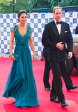 Kate Middleton looked stunning on the red carpet when she attended a launch party for the London Paralympics in May 2012 with Prince William.